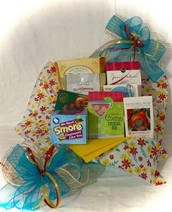 This gift can be customized by size, color, and product contents. Chat with us here on our website or call, text, email us and we will gladly assist you at 704.526.7407 or perfectselectioncreativegifts@gmail.com and we can assist you with your order.