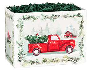 Vintage Red Truck Gift box