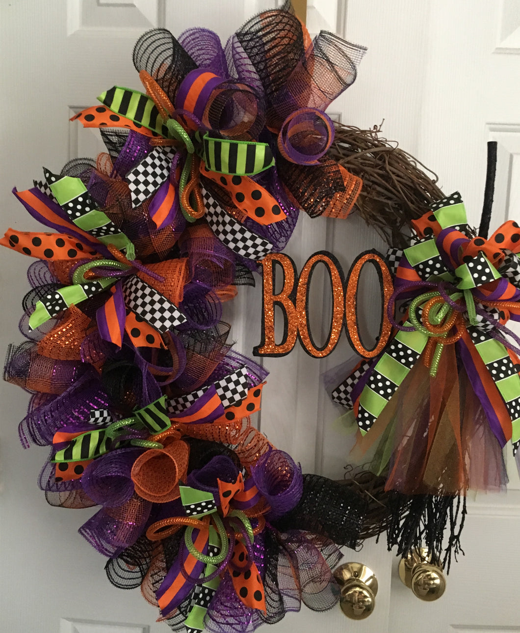 Witches Broom Wreath