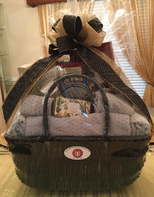 Towel Gift Basket