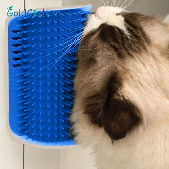 SELF-GROOMING CAT BRUSH