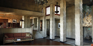 Frank Lloyd Wright's The Ennis House