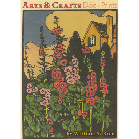 "<p>Set of twenty assorted 5"" x 7"" note cards (5 each of 4 designs) plus white envelopes in a decorative card box featuring block prints by William S Rice.</p>"