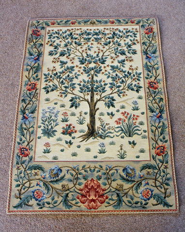 <p>Fine quality cotton jacquard loom woven tapestry inspired by the famous Tree of Life design by William Morris.</p>