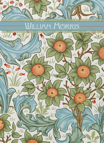 "<p>Set of twenty assorted 5"" x 7"" note cards (5 each of 4 designs) plus envelopes in a decorative card box featuring the designs of William Morris.</p>"