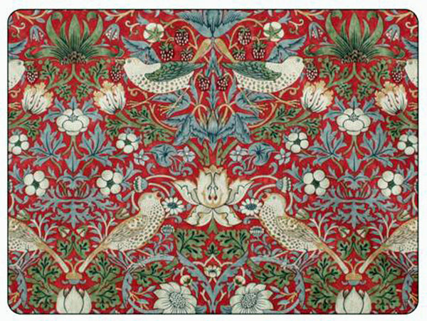 <p>Quality placemats by Pimpernel in Morris & Co Strawberry Thief Red design.</p>
