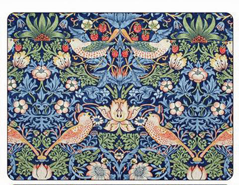 <p>Quality place mats by Pimpernel in Morris & Co Strawberry Thief Blue design.</p>