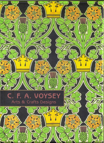 "<p>This is a collection of twenty 5"" x 7"" blank note cards in 4 designs by CFA Voysey (5 each of the 4 designs) with white envelopes in a decorative box. </p>"