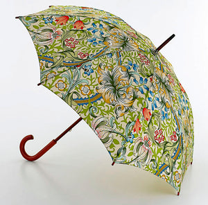 <p>Beautiful umbrella in Morris & Co Golden Lily print.</p>
