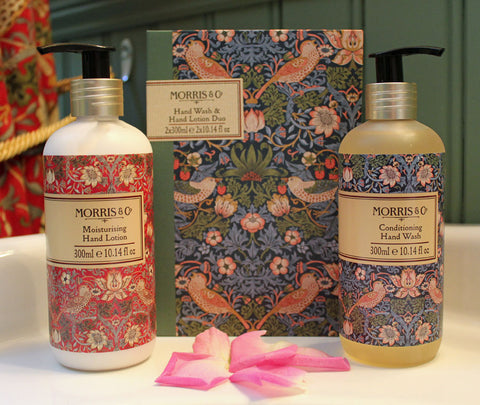 <p>From Heathcote & Ivory as part of the Morris & Co. Strawberry Thief Home Fragrance Collection.</p>