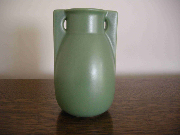 Teco Pottery '2 Buttress' Vase