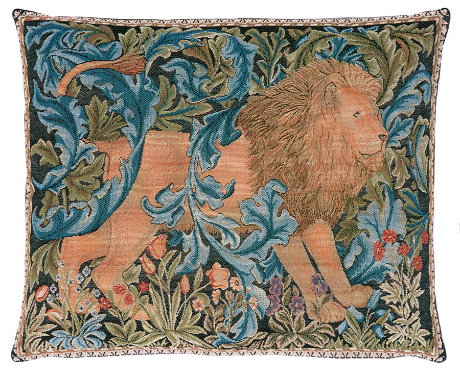 William Morris The Forest I - Right Tapestry Cushion