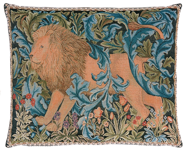 William Morris The Forest II - Left Tapestry Cushion
