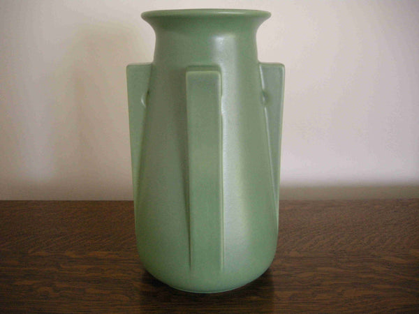 Teco Pottery '4 Buttress' Vase