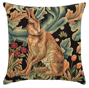 The Forest Hare Tapestry Cushion