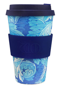 <p>Useful and beautiful, reusable, biodegradable Ecoffee Cup in the Acanthus design by William Morris. </p>