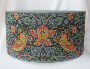 William Morris Birds Tapestry Fabric Lampshade