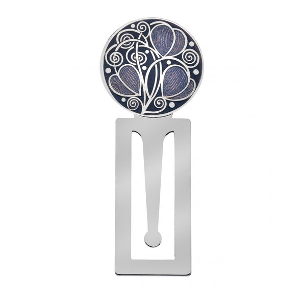 Sea Gems Mackintosh Silver Plated and Enamel Bookmark in 2 Designs