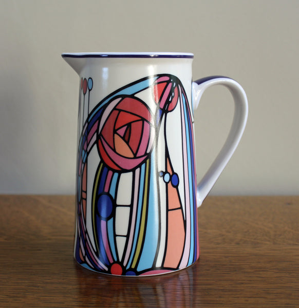 Charles Rennie Mackintosh Fine China Jug