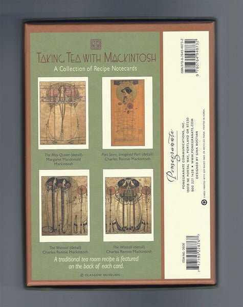 Boxed Set of 20 Note Cards of Taking Tea with Mackintosh