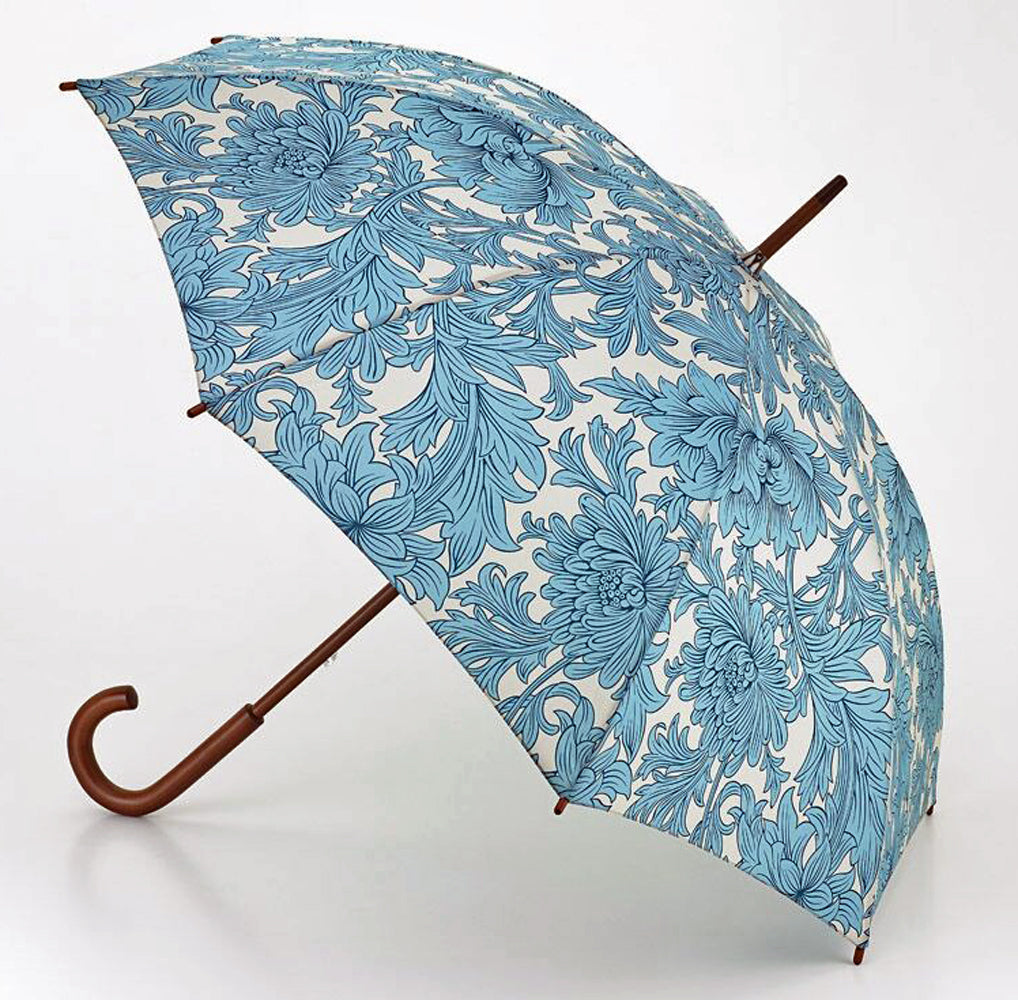 Morris & Co by Fulton Chrysanthemum Walking Umbrella