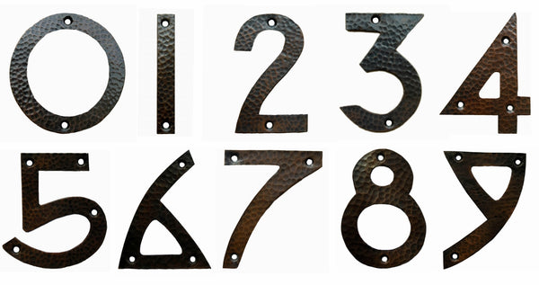 Copper House Number '7'