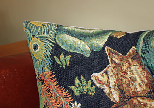 The Forest Fox Tapestry Cushion