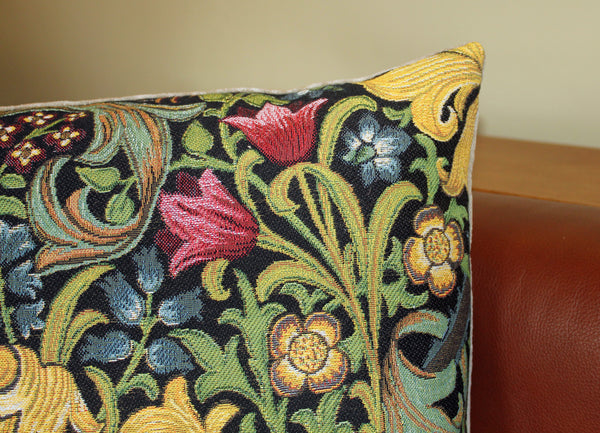 William Morris Golden Lily Tapestry Cushion