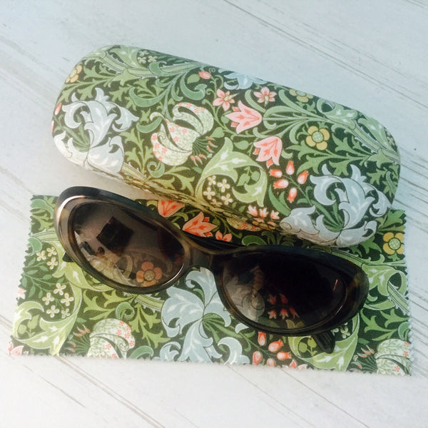 William Morris Golden Lily Glasses Case