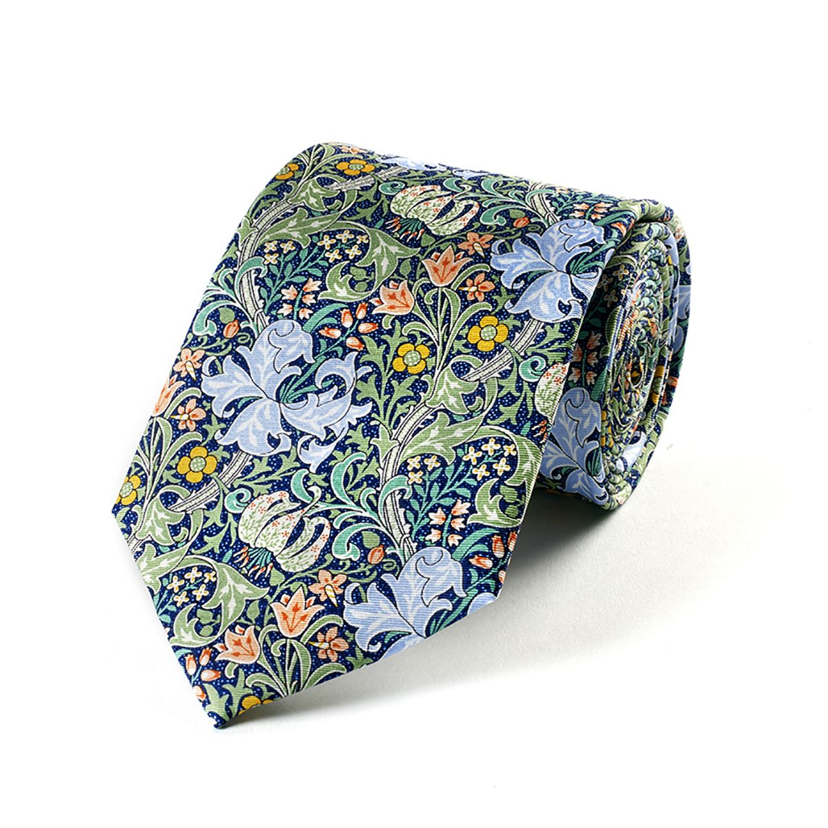 William Morris Golden Lily Silk Tie