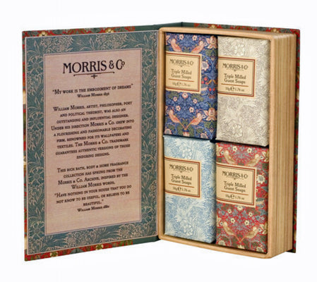 <p>From Heathcote & Ivory as part of the Morris & Co Home Fragrance Collection.</p>