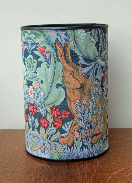 William Morris The Hare Tapestry Bin