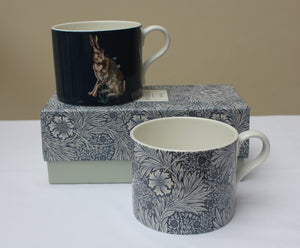 Spode William Morris Hare and Marigold Mugs, Set of 2 in a Gift Box