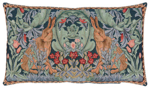 William Morris Hares Tapestry Cushion