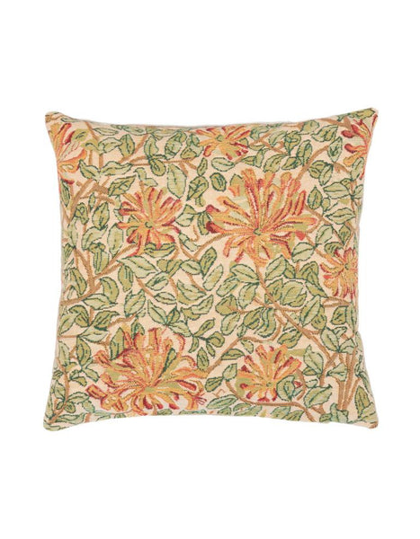 May Morris Honeysuckle Tapestry Cushion