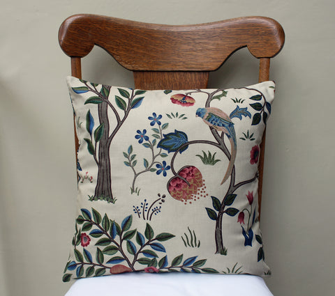 May Morris Kelmscott Tree Cushion