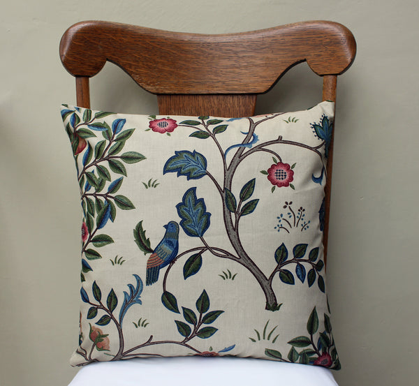 May Morris Kelmscott Tree Cushion Cover