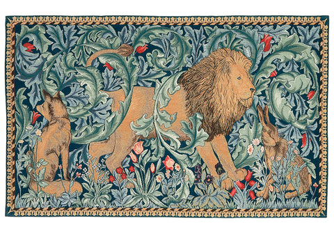 William Morris The Forest Tapestry 49 cm x 84 cm