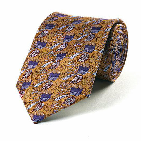 <p>Beautiful and stylish silk tie in a design adapted from a pattern by Charles Rennie Mackintosh.</p>