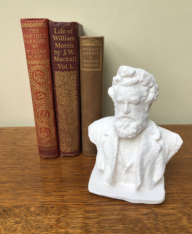 William Morris Bust - Paintable Sculpture