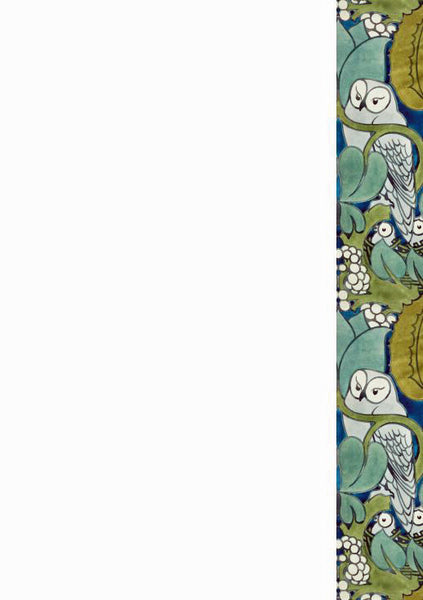Voysey Owls Writing Set