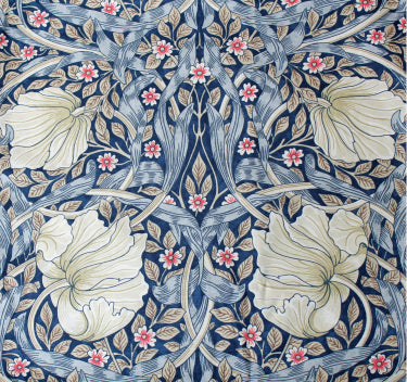 <p>Pair of lined curtains in William Pimpernel design measuring 190 cm x 137 cm. Made from Morris & Co. Sanderson fabric.</p>