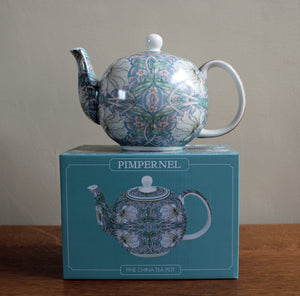 William Morris Pimpernel Pastel Tea Pot