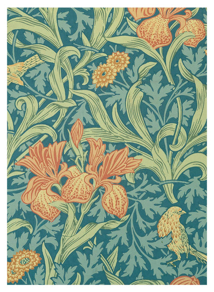 William Morris Designs: Postcard Book