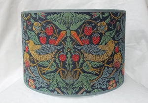 William Morris Strawberry Thief Tapestry Fabric Lampshade