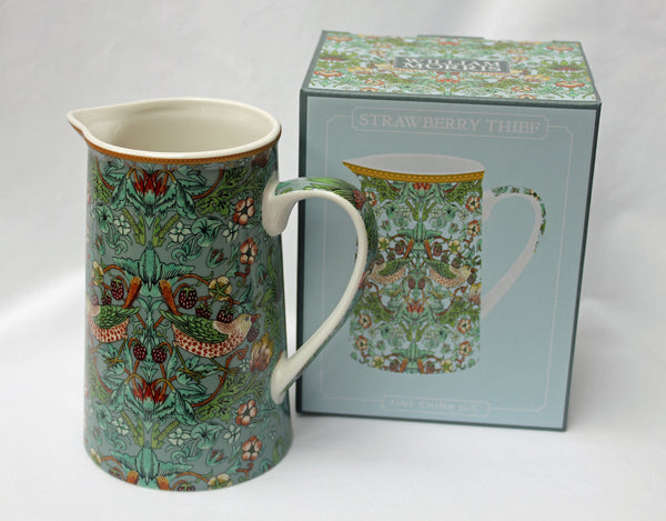 William Morris Strawberry Thief Fine China Jug