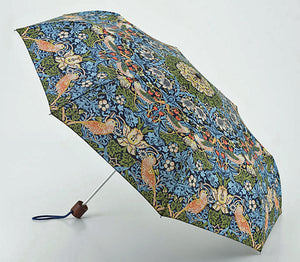 Morris & Co Minilite Strawberry Thief Folding Umbrella