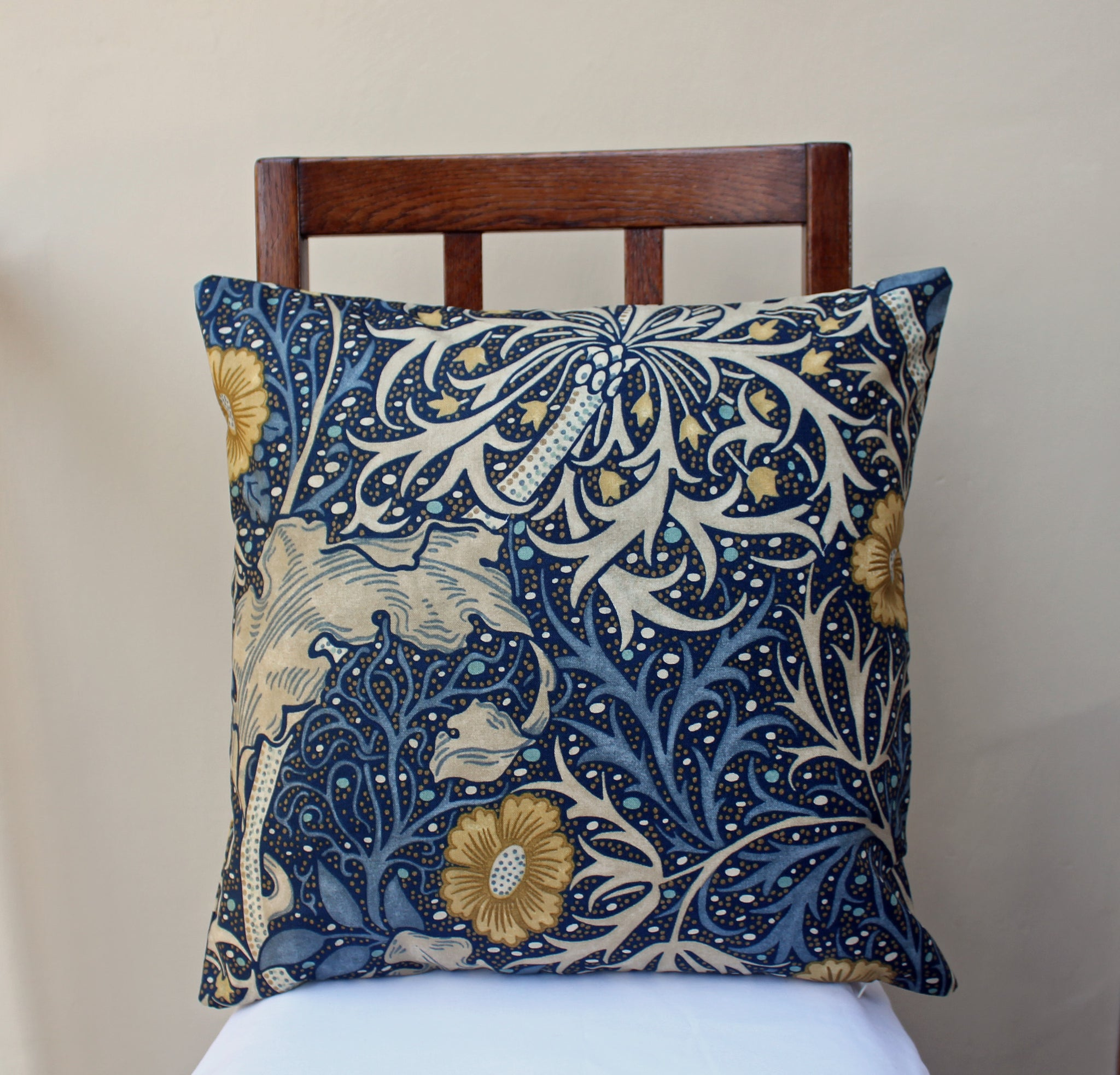 William Morris Seaweed Cushion Cover