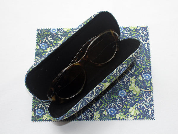 William Morris Seaweed Glasses Case