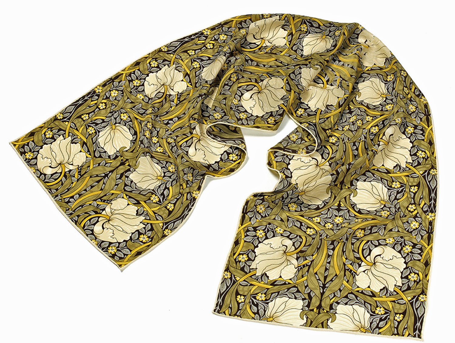 <p>Beautiful and stylish silk scarf in the Pimpernel design by William Morris.</p>